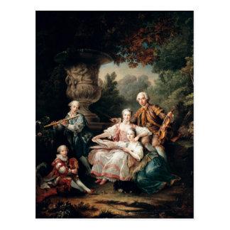De Sourches Louis du Bouchet Marquis Postkarte