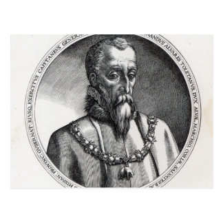 De Toledo, 3. Herzog Fernandos Alvarez von 2 alba Postkarte