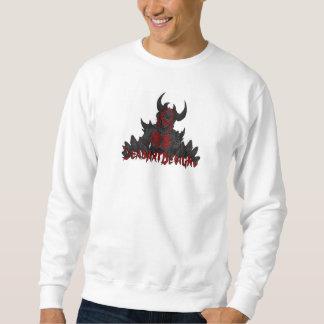 DeadArtDesigns Logo-Strickjacke Sweatshirt