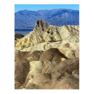 Death Valley 8 Postkarte