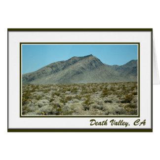 Death Valley, CA-Karte Karte
