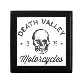 Death- Valleymotorräder Kleine Quadratische Schatulle