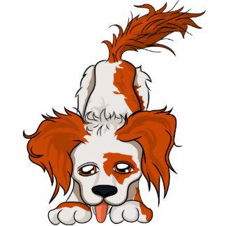 Debbie-Hund Freistehende Fotoskulptur