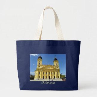Debrecen, Nagytemplom/Debrecen, große Kirche Jumbo Stoffbeutel