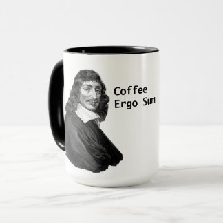 Decartes Kaffee-ergo Summe Tasse