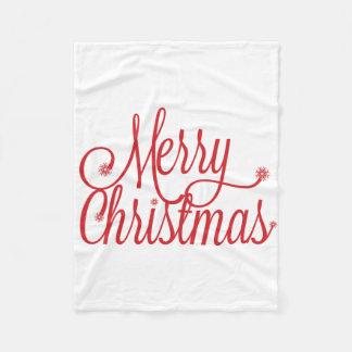 Decke der frohen Weihnachten