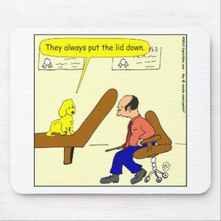 Deckel 382 verfolgen unten Cartoon Mousepad