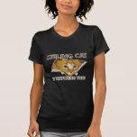 Decken-Katze passt Sie auf! - Besonders angefertig Tshirts