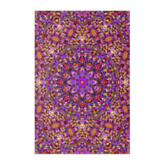 """Decken Sie Art-Muster-Acrylwand-Kunst, 24"""" x 6"""" Acryldruck"""
