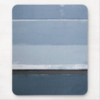 """""""Decken Sie"""" blaue und graue abstrakte Kunst auf Mauspad"""
