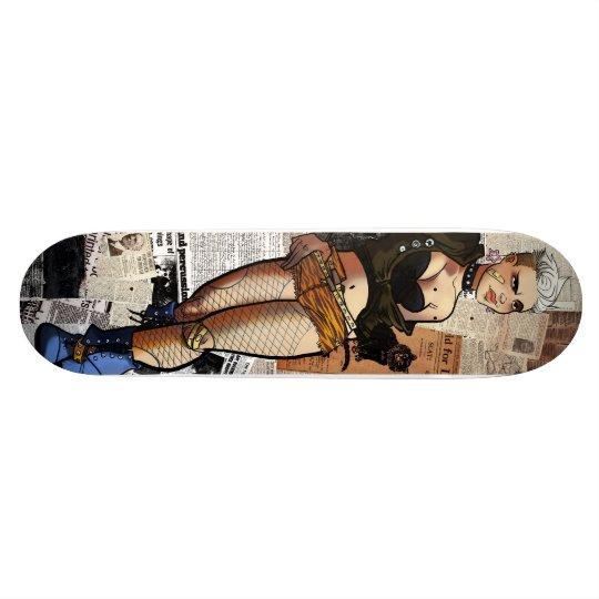 Decoupage Freifrau Skateboard Deck