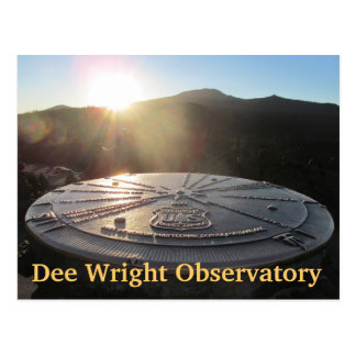 Dee Wright Observatorium im Willamette Wildernes Postkarte