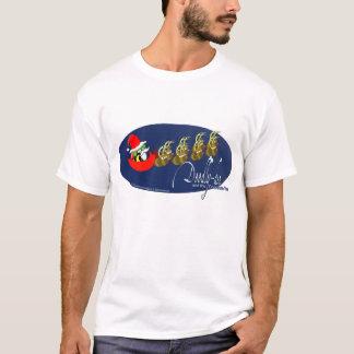 Deedly-dee und das Weihnachtsbaum-Shirt T-Shirt
