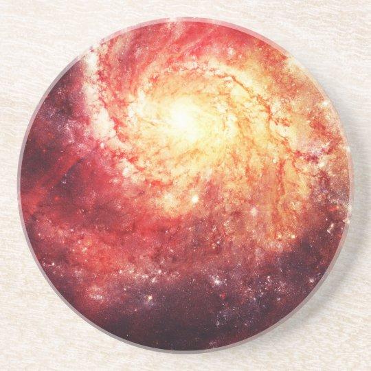 Deep Space Galaxy (Messier 101 Remix) Getränkeuntersetzer