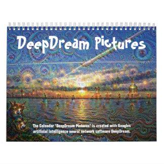 DeepDream Bilder Abreißkalender