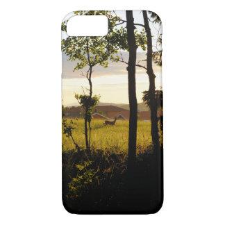 deer in beautiful nature iPhone 8/7 hülle