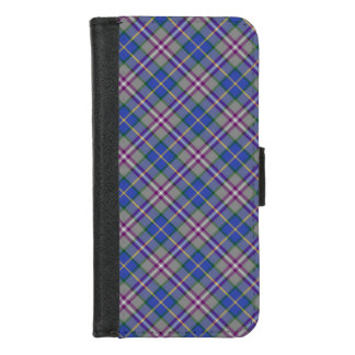 Deeside Schottland BezirkTartan iPhone 8/7 Geldbeutel-Hülle