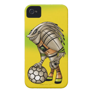 DEEZER ALIEN-ROBOTER iPhone 4 KAUM DORT iPhone 4 Case-Mate Hülle