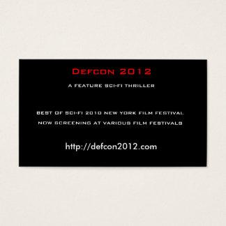 Defcon 2012, ein visitenkarte