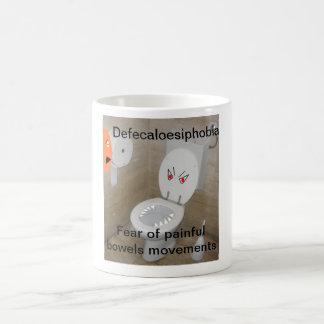 Defecaloesiphobia Kaffeetasse