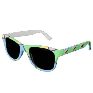 Defekte Fliese Brights Sonnenbrille