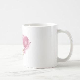 Defekte piggy Bank Kaffeetasse