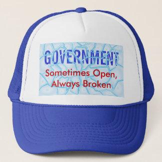 Defekte Regierung Truckerkappe