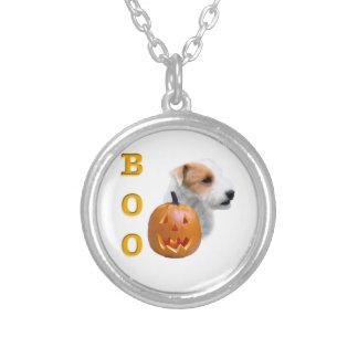 Defekter Mantel Pastor-Russell Terrier Halloween Versilberte Kette