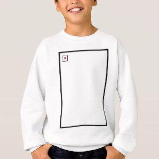 Defektes Bild Sweatshirt