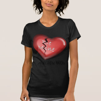 defektes Herz, Ablehnungs-Schmerzen T-Shirt