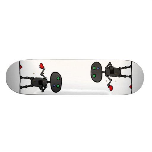 Defektes Herz-Brett Personalisiertes Skateboard