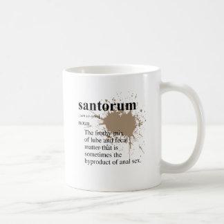 Definieren Sie Santorum Kaffeetasse