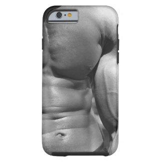 Definiertes Abdomen und Bizeps Tough iPhone 6 Hülle