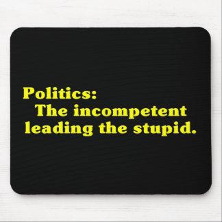 Definition der Politik Mousepad