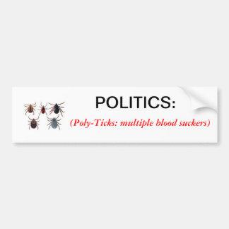 Definition des Politik-Autoaufklebers Autoaufkleber