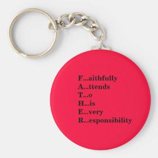 """""""Definition eines Vaters """" Schlüsselanhänger"""