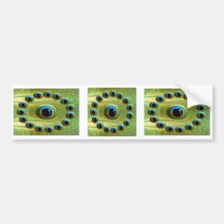 Definitions-Kamera-Auge das HD des Drachen Autoaufkleber