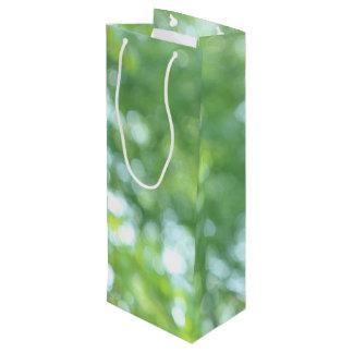 Defocused Natur Geschenktüte Für Weinflaschen