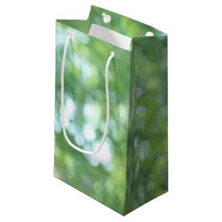 Defocused Natur Kleine Geschenktüte