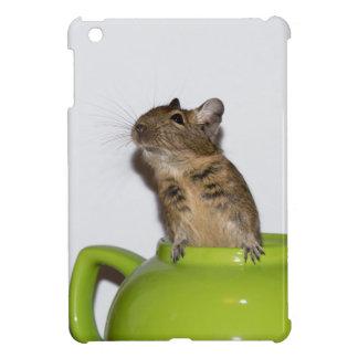 Degu in der grünen Teekanne iPad Mini Hülle