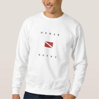 Dehab Ägypten Unterwasseratemgerät-Tauchen-Flagge Sweatshirt