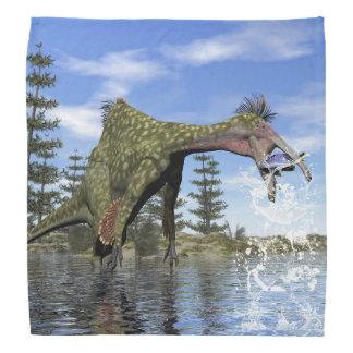 Deinocheirusdinosaurierfischen - 3D übertragen Kopftuch