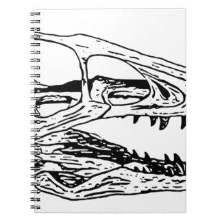 Deinonychus Spiral Notizblock