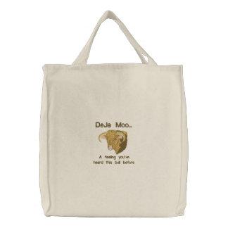 Deja MOO Bestickte Tasche
