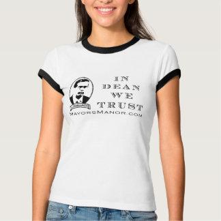 Dekan Trust - Shirt des Damen-Wecker-s/s