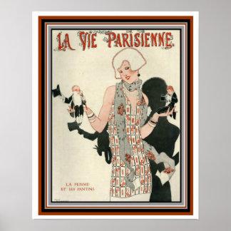 Deko-Abdeckung für La konkurrieren Parisienne 16 Poster