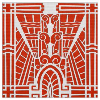 Deko-Architekturmuster, Mandarine Stoff