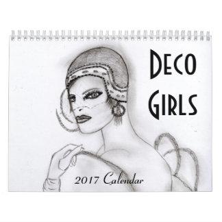 Deko-Mädchen-Kalender I Kalender