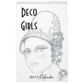 Deko-Mädchen-Kalender I Wandkalender