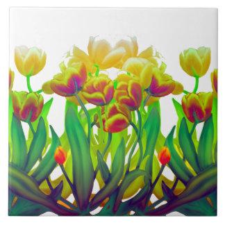 Deko-Tulpe-Garten-Fliese Keramikfliese